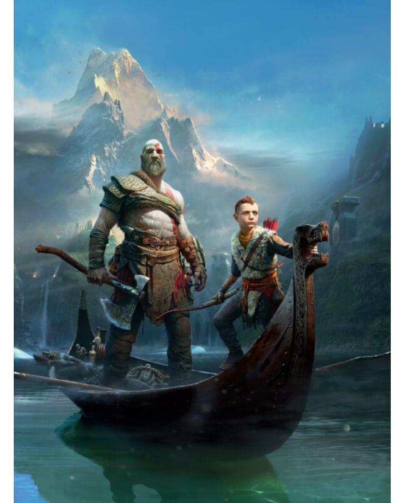 Артбук Мир игры God of War