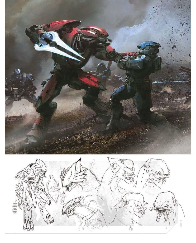 Артбук Halo: искусство создания миров