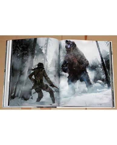 Артбук Мир игры Rise Of The Tomb Raider