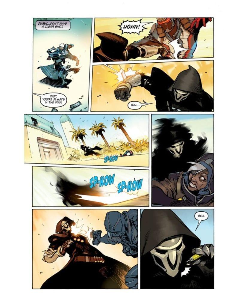 Комикс Overwatch: Anthology. Volume 1