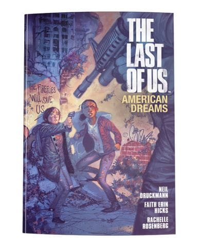 Комикс The Last of Us: American Dreams