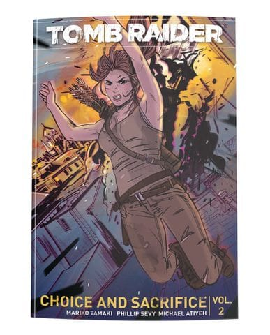 Комикс Tomb Raider. Volume 2