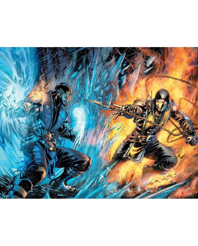 Комикс Mortal Kombat X. Книга 1. Кровавые узы
