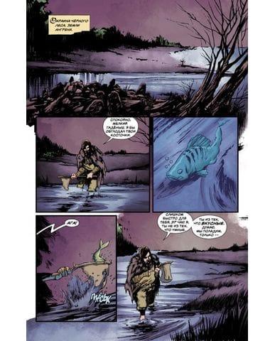 Комикс Ведьмак: Дом витражей