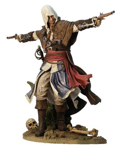 Фигурка Assassin's Creed IV: Black Flag - Edward Kenway the Assassin Pirate (24 см) Ubicollectibles