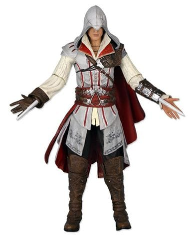 Фигурка Assassin's Creed 2 - Ezio White Cloak (18 см)