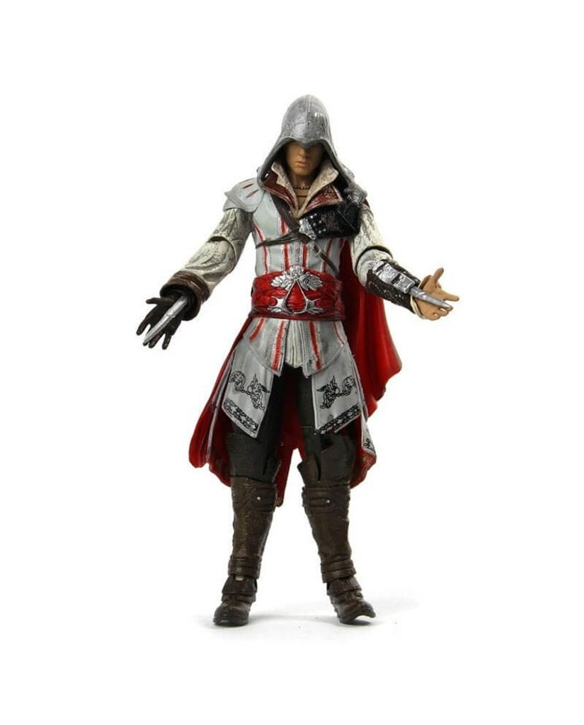 Фигурка Assassin's Creed 2 - Ezio White Cloak (18 см) Neca
