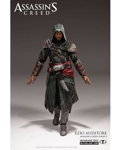 Фигурка Assassin's Creed - Il Tricolore Ezio Auditore (15 см) (Series 5)