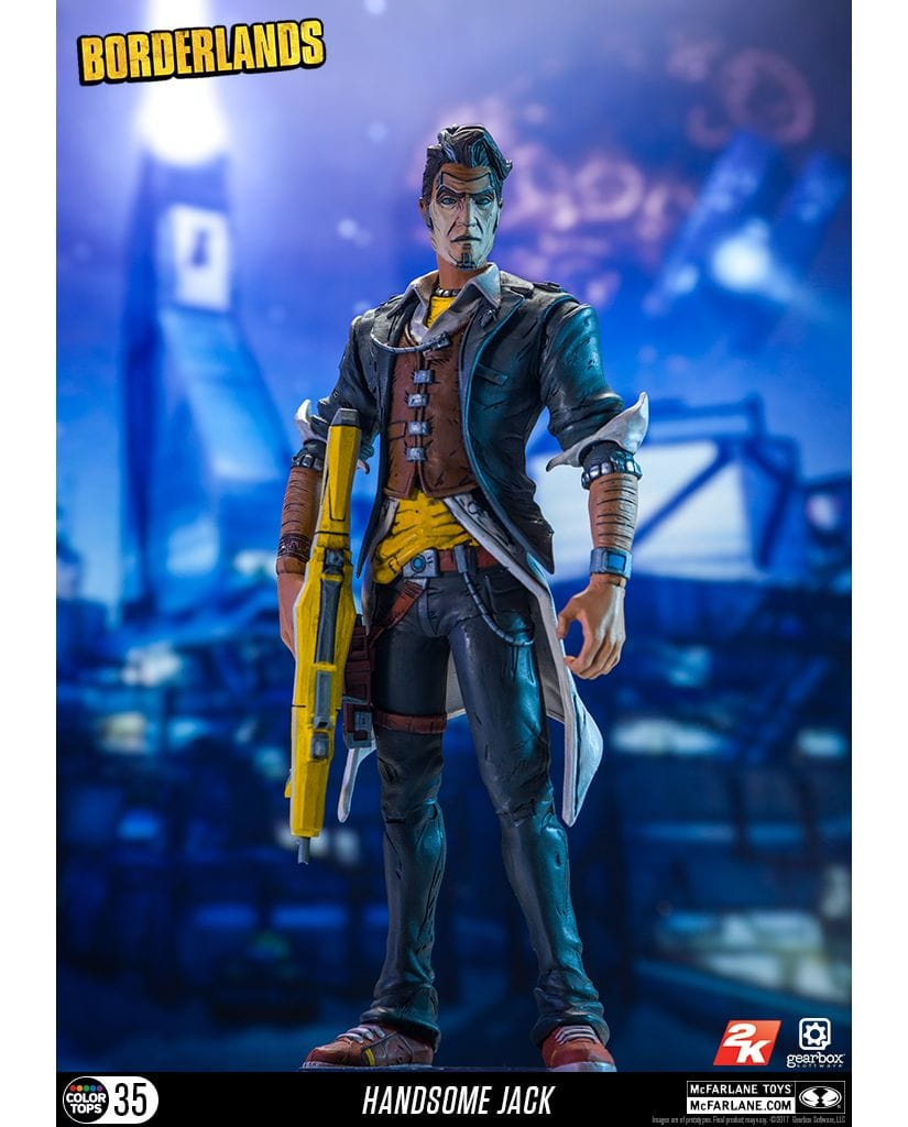 Фигурка Borderlands - Handsome Jack (18 см)