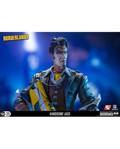Фигурка Borderlands - Handsome Jack (18 см) McFarlane