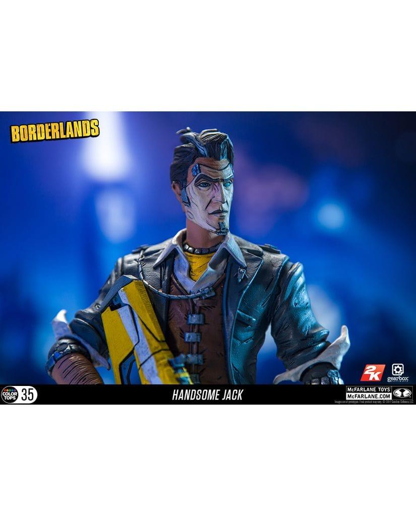 Фигурка Borderlands – Handsome Jack (18 см) McFarlane Toys