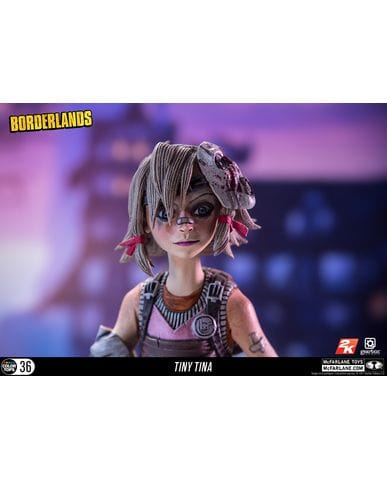 Фигурка Borderlands - Tiny Tina (18 см) McFarlane