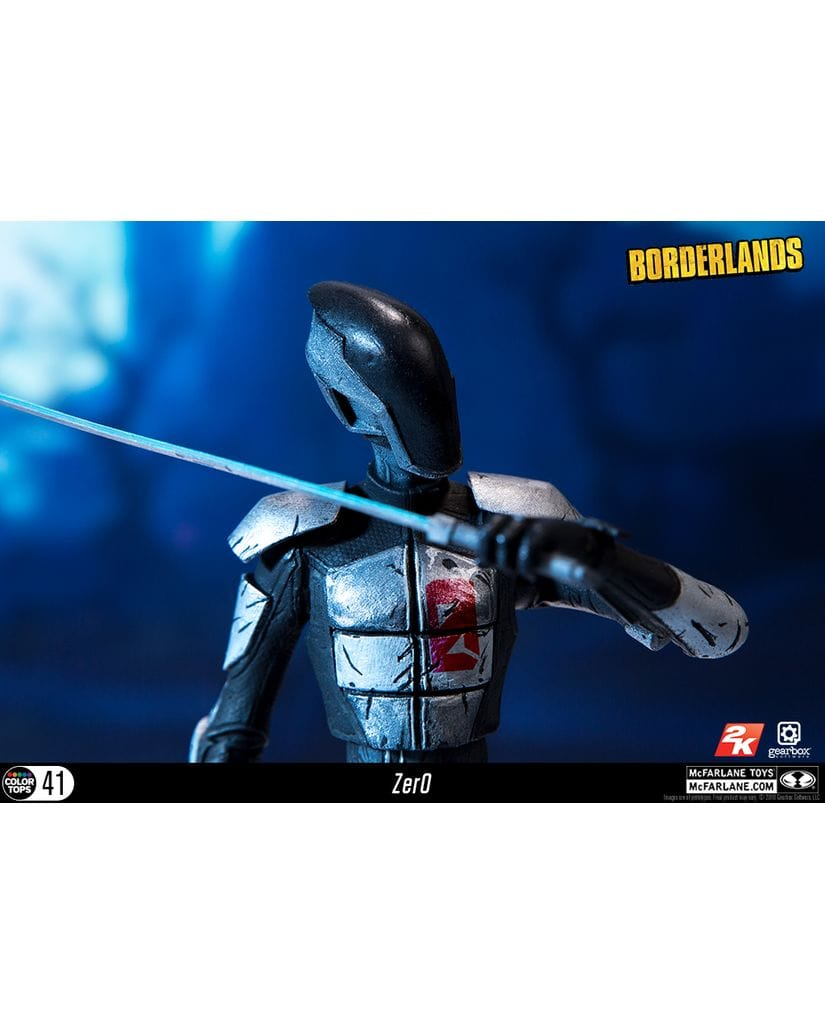 Фигурка Borderlands - Zero (18 см) McFarlane