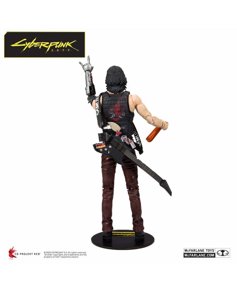 Фигурка Cyberpunk 2077 - Johnny Silverhand (18 см) McFarlane Toys