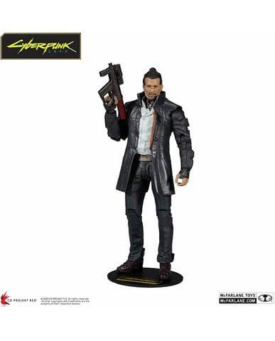 Фигурка Cyberpunk 2077 - Takemura (18 см) McFarlane Toys