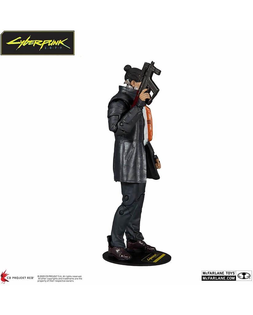 Фигурка Cyberpunk 2077 – Takemura (18 см) McFarlane Toys