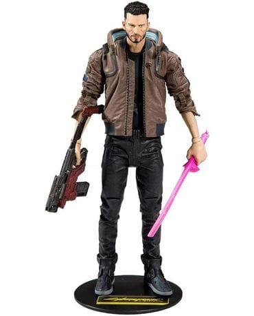 Фигурка Cyberpunk 2077 - V (18 см) McFarlane Toys