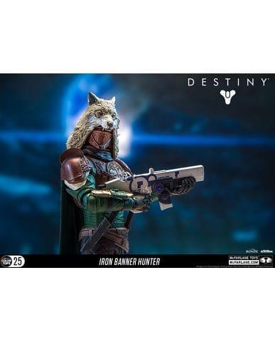 Фигурка Destiny - Hunter (Iron Banner) (18 см) McFarlane Toys