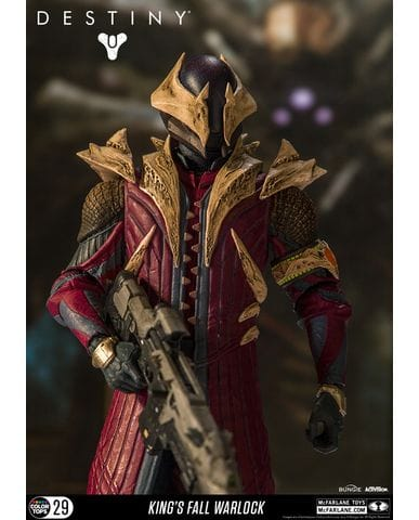 Фигурка Destiny - Warlock (King's Fall) (18 см)