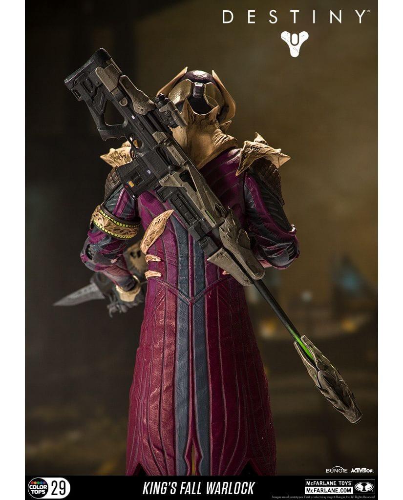 Фигурка Destiny - Warlock (King's Fall) (18 см)