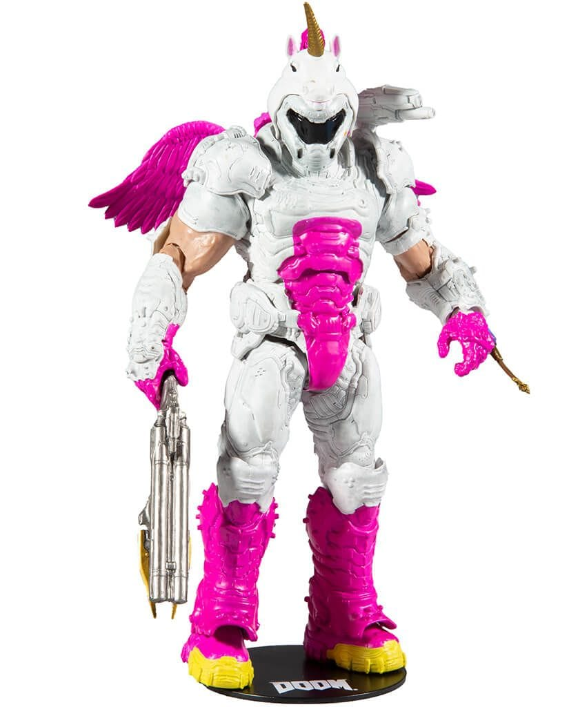 Фигурка Doom – Doom Slayer DOOMicorn (18 см) McFarlane Toys