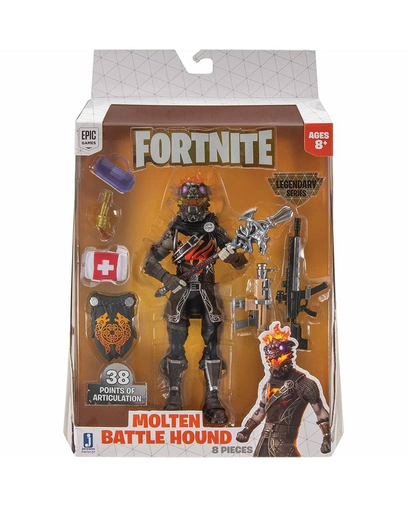 Фигурка Fortnite – Molten Battle Hound (15 см) Jazwares