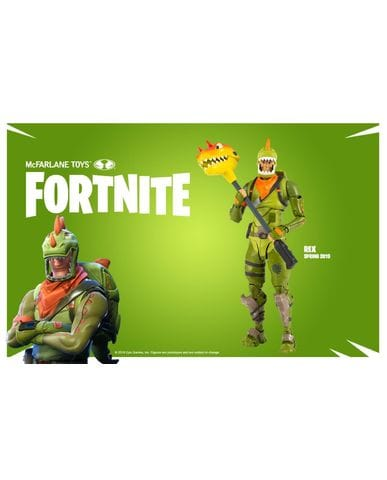 Фигурка Fortnite - Rex (18 см)