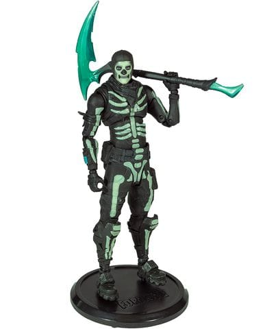 Фигурка Fortnite - Skull Trooper Green Glow (18 см) McFarlane Toys