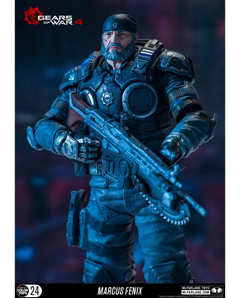 Фигурка Gears of War 4 - Marcus Fenix (18 см)