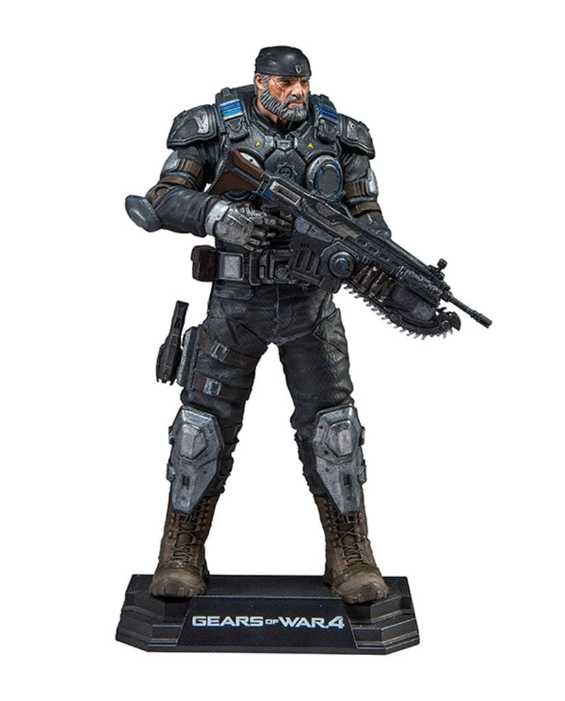 Фигурка Gears of War 4 - Marcus Fenix (18 см) McFarlane