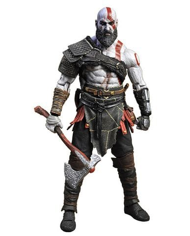 Фигурка God of War (2018) - Kratos (18 см) Neca