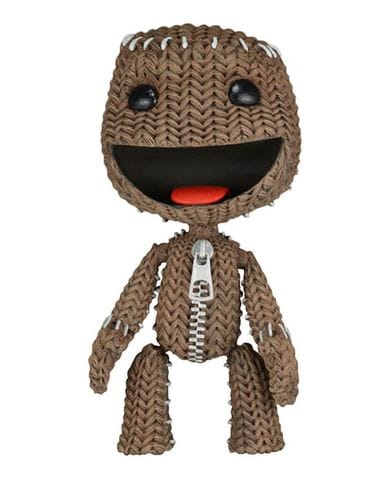 Фигурка LittleBigPlanet - Happy Sackboy (13 см) Neca