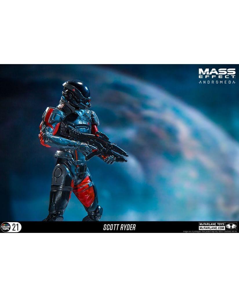 Фигурка Mass Effect: Andromeda - Scott Ryder (18 см) McFarlane Toys