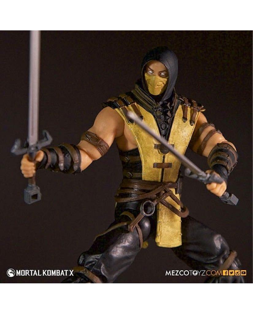 Фигурка Mortal Kombat X - Scorpion (15 см) Mezco Toyz