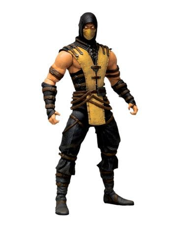 Фигурка Mortal Kombat X - Scorpion (15 см) Mezco Toyz
