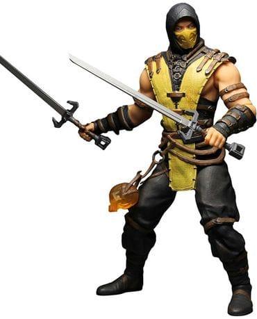 Фигурка Mortal Kombat X - Scorpion (30 см) Mezco Toyz