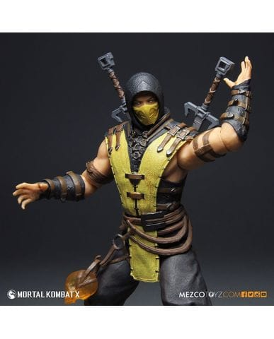 Фигурка Mortal Kombat X - Scorpion (30 см)