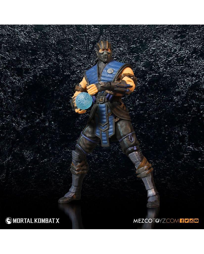 Фигурка Mortal Kombat X – Sub-Zero (30 см) Mezco Toyz