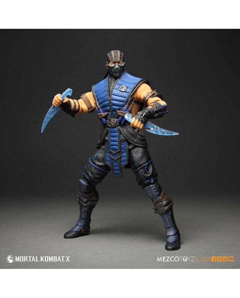 Фигурка Mortal Kombat X - Sub-Zero (30 см) Mezco Toyz