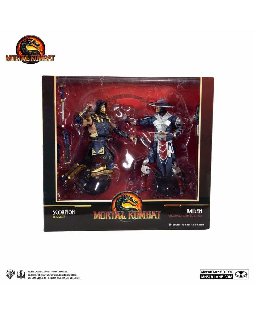 Фигурки Mortal Kombat – Scorpion and Raiden (18 см) McFarlane Toys
