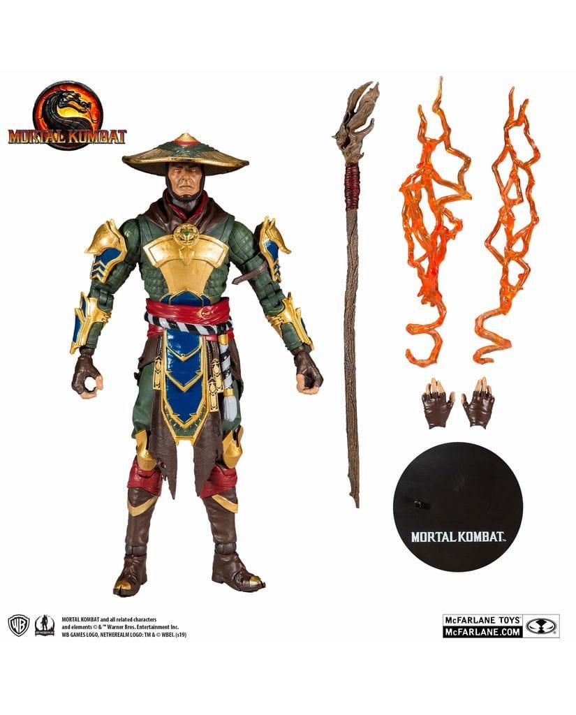 Фигурка Mortal Kombat – Raiden (18 см) McFarlane Toys