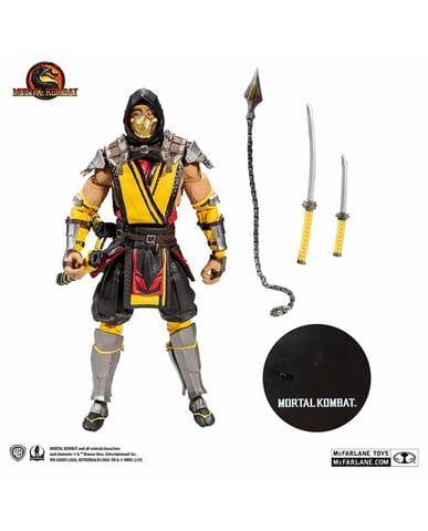 Фигурка Mortal Kombat - Scorpion (18 см) McFarlane
