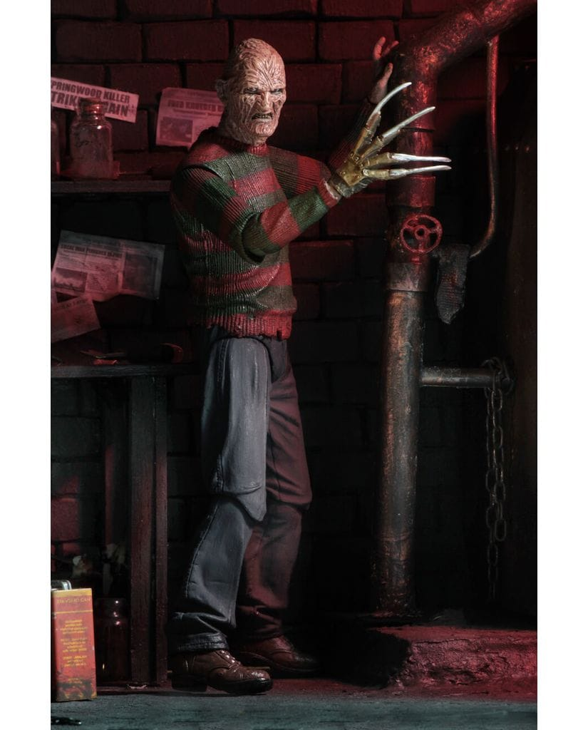 Фигурка Nightmare On Elm Street 2 – Ultimate Freddy Krueger (18 см) Neca
