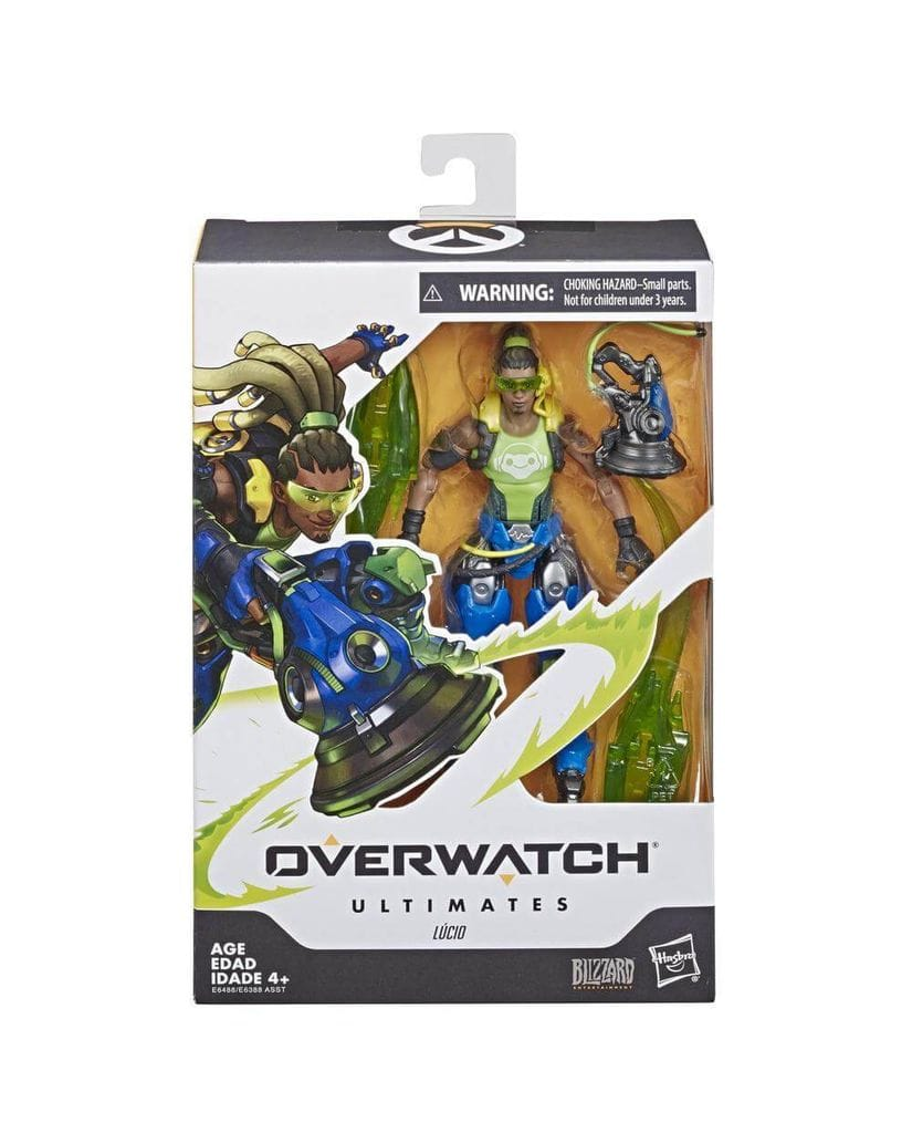 Фигурка Overwatch - Lucio Ultimates (15 см) Hasbro