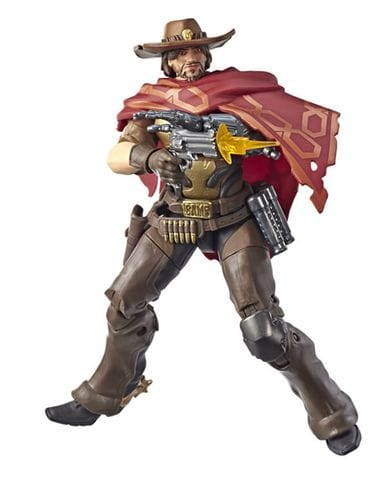Фигурка Overwatch – McCree Ultimates (15 см) Hasbro