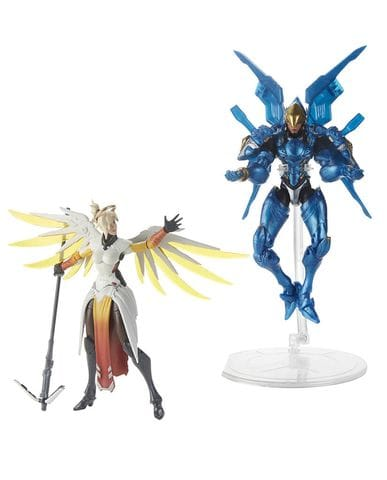 Фигурки Overwatch – Mercy and Pharah Ultimates (15 см) Hasbro