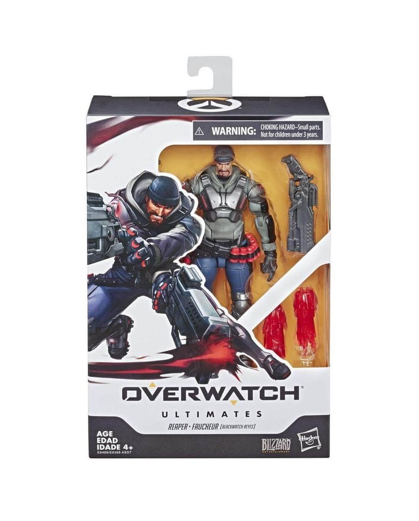 Фигурка Overwatch - Reaper Ultimates (15 см) Hasbro