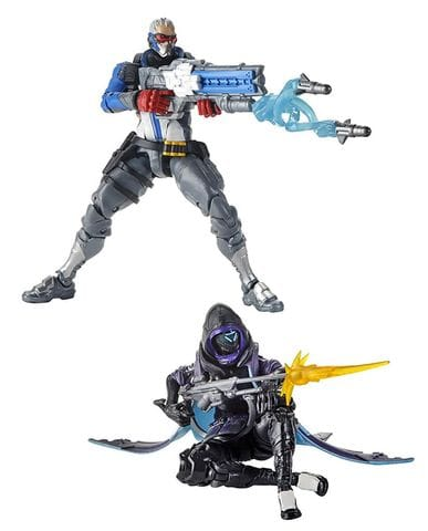 Фигурки Overwatch – Shrike Ana and Soldier 76 Ultimates (15 см) Hasbro
