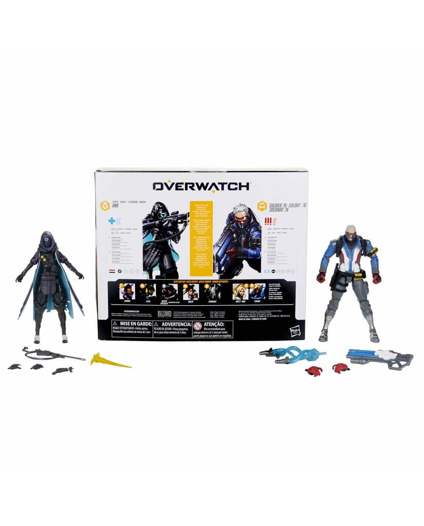 Фигурки Overwatch – Shrike Ana and Soldier 76 Ultimates (15 см) Hasbro