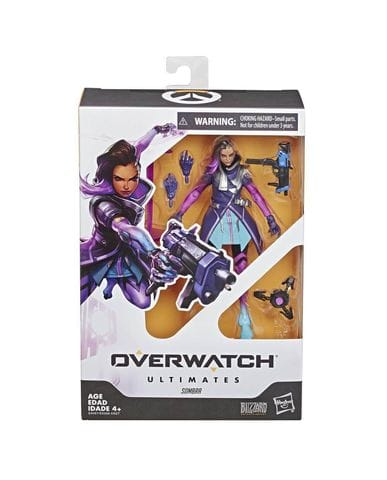 Фигурка Overwatch - Sombra Ultimates (15 см) Hasbro